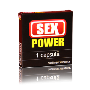 SEX POWER, 1 capsula, Hilcon