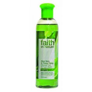 GEL DE DUS CU ALOE VERA DIN INGREDIENTE NATURALE, 250 ml, Faith in Nature