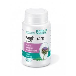 ANGHINARE EXTRACT, 60 capsule, Rotta Natura