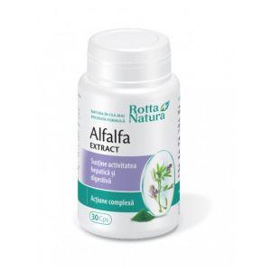 ALFALFA EXTRACT (LUCERNA), 30 capsule, Rotta Natura