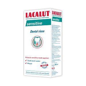 APA DE GURA SENSITIVE 300 ml, Lacalut