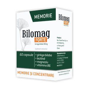 BILOMAG FORTE MEMORIE 60 capsule, 34.2 g, Zdrovit