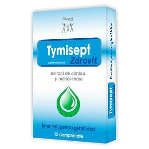 TYMISEPT 12 comprimate de supt, Zdrovit
