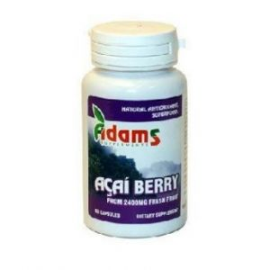 ACAI BERRY 600 mg, 60 capsule, Adams Vision