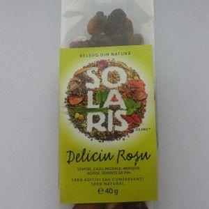 DELICIU ROSU 40 g, Solaris