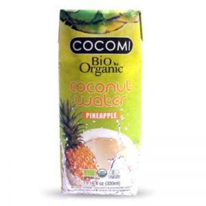 APA DE COCOS CU ANANAS BIO, 330 ml, Cocomi