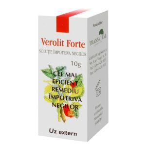 VEROLIT FORTE - SOLUTIE IMPOTRIVA NEGILOR 5 ml, Transvital Cosmetics