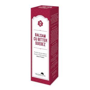 BALSAM CU BITTER SUEDEZ, 125 ml, Transvital Cosmetics