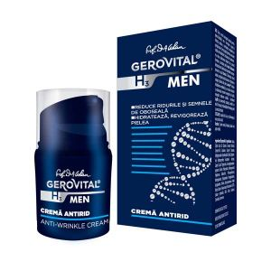 CREMA ANTIRID - GEROVITAL H3 MEN 30 ml, Farmec