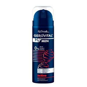 DEODORANT ANTIPERSPIRANT ACTIVE - GEROVITAL H3 MEN 150 ml, Farmec