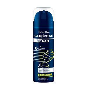 DEODORANT ANTIPERSPIRANT CONFIDENT - GEROVITAL H3 MEN 150 ml, Farmec