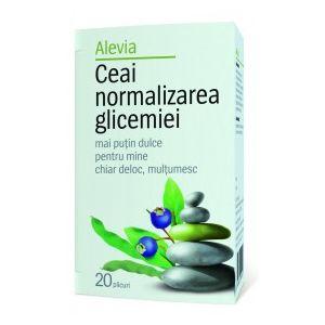 CEAI NORMALIZAREA GLICEMIEI, 20 plicuri, Alevia