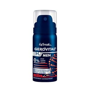 DEODORANT ANTIPERSPIRANT ACTIVE - GEROVITAL H3 MEN 40 ml, Farmec