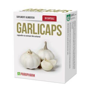 GARLICAPS - EXTRACT DE USTUROI 30 capsule, Parapharm