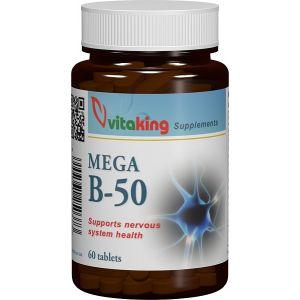 COMPLEX MEGA B-50, 60 comprimate, Vitaking