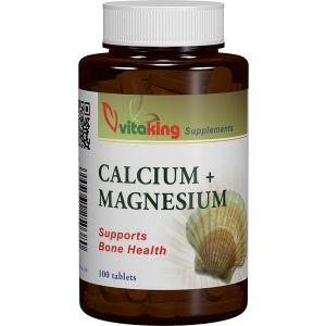 CALCIU SI MAGNEZIU 500/250, 100 comprimate, Vitaking