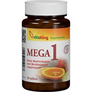 MULTIVITAMINA MEGA 1, 30 comprimate, Vitaking