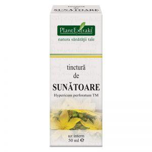 SUNATOARE - Hypericum Perforatum, Tinctura 50 ml, Plant Extrakt