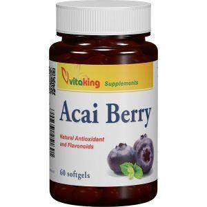 ACAI BERRY 60 Capsule gelatinoase, Vitaking