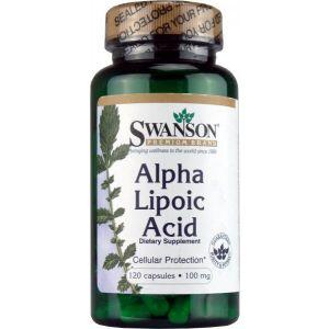 ACID ALFA-LIPOIC 100 mg, 120 capsule, Swanson