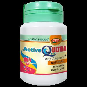 ACTIVE Q10 ULTRA UBIQUINOL 10 capsule, Cosmo Pharm