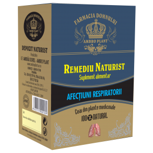CEAI TRATAMENT - AFECTIUNI RESPIRATORII, 200 g, Ambro Plant