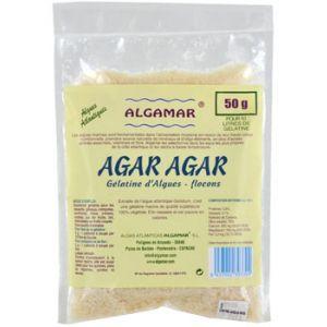 AGAR AGAR FULGI  BIO, 50 g,  Algamar