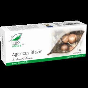 AGARICUS BLAZEI, 30/60 capsule, Laboratoarele Medica