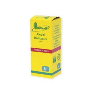 ALCOOL BORICAT 4%, 20 g, Hipocrate