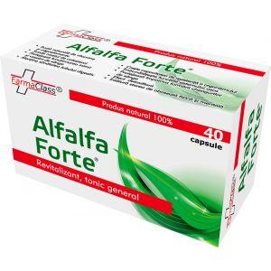 ALFALFA FORTE, 40 capsule, FarmaClass