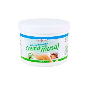 CREMA PENTRU MASAJ - EXTRACT ALGE, 500 ml, Casaherba