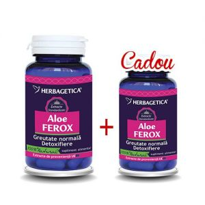 ALOE FEROX 60 + 30 capsule CADOU, Herbagetica