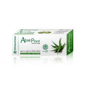ALOE PLANT - GEL PENTRU PIELE, 20 ml, Vivanatura