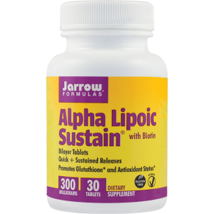 ALPHA LIPOIC SUSTAIN 30 tablete, Jarrow Formulas