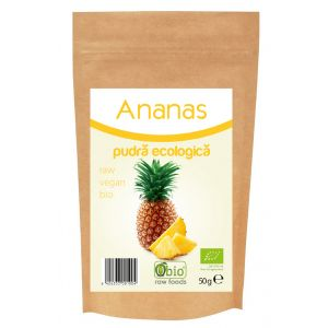 ANANAS PULBERE BIO 50 g, Obio
