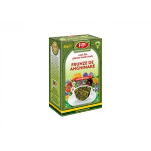 ANGHINARE FRUNZE, Ceai la pungă 50g, Fares