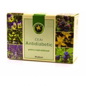 ANTIDIABETIC, Ceai 20 plicuri, Hypericum Impex