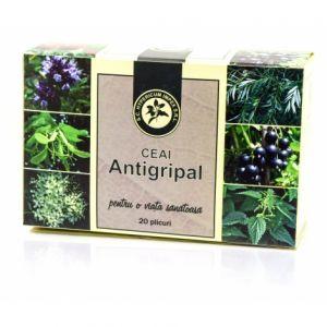 ANTIGRIPAL, Ceai 20 plicuri, Hypericum Impex