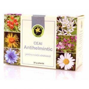 ANTIHELMETIC, Ceai 30 g, Hypericum Impex
