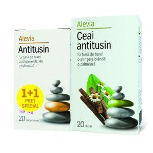 ANTITUSIN 20 comprimate + CEAI ANTITUSIN 20 plicuri, Alevia