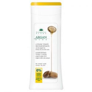 LOTIUNE TONICA RECONFORTANTA CU ULEI DE ARGAN SI ALOE VERA BIO 200 ml, Cosmetic Plant