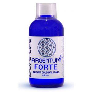 ARGINT COLOIDAL - ARGENTUM+ 20 PPM FORTE 100/240/480 ml, Pure Life