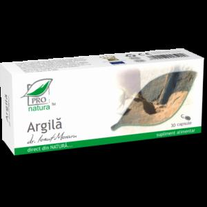 ARGILA, 30/60/200 capsule, Laboratoarele Medica