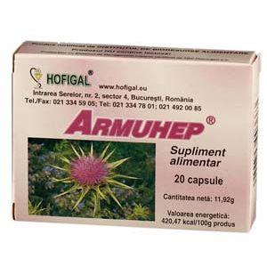 ARMUHEP, 20 capsule, Hofigal