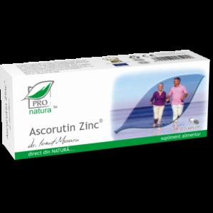 ASCORUTIN ZINC, 30 capsule, Laboratoarele Medica