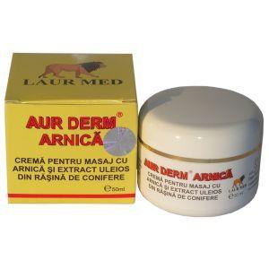 CREMA CU ARNICA - AUR DERM, 50 ml, Laur Med