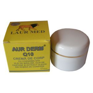 CREMA CU CONEZIMA Q10 - AUR DERM, 50 ml, Laur Med