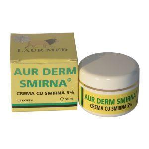 CREMA CU SMIRNA 5% - AUR DERM, 30 ml, Laur Med