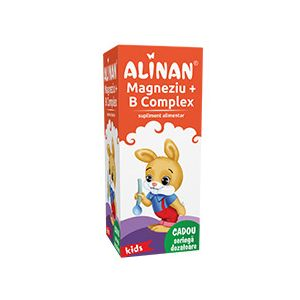 MAGNEZIU + B COMPLEX SIROP - ALINAN 150 ml, Fiterman Pharma