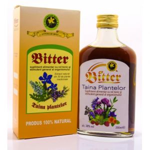 BITTER TAINA PLANTELOR 200 ml, Hypericum Impex